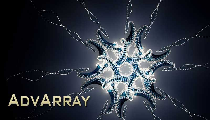 AdvArray for 3Ds Max - 3Ds Max 2016 / 2018高级阵列插件AdvArray v1.0