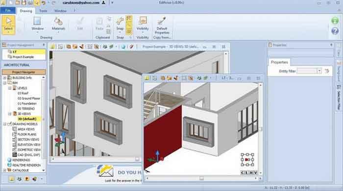 Edificius 3D - Edificius 3D Architectural BIM Design 12.0.5.20843 x64