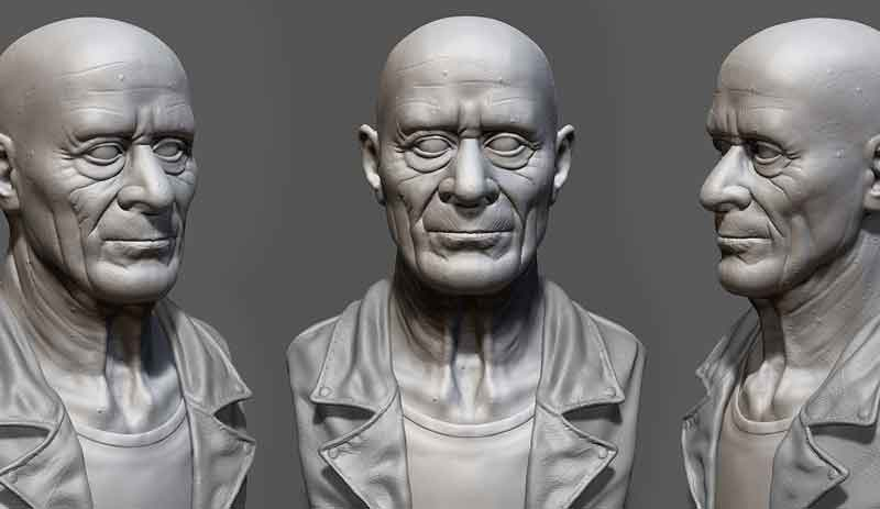 Maya ZBrush high precision model making - Maya/ZBrush高精度模型制作中文视频教程