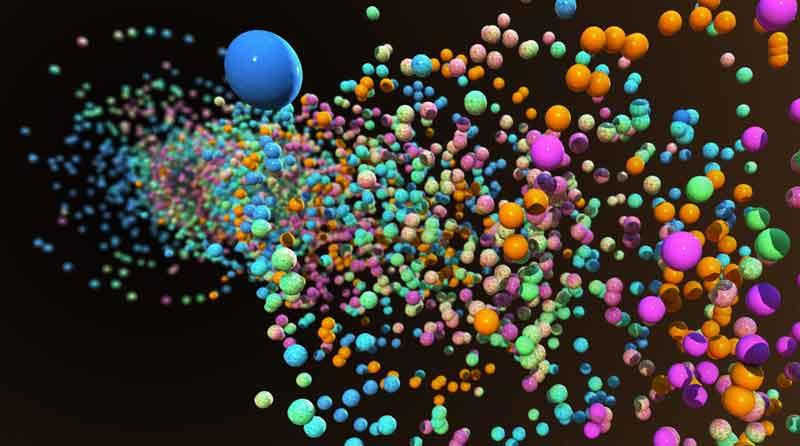 NUKEX particle effects - NukeX粒子特效中文字幕高级教程